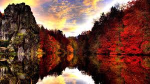 autumn lake 704752 walldevil