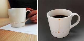 creative mug designs the coffee mug design avoids coffee stains
