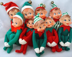 christmas elves vintage felt christmas elves on a shelf carol aebersold