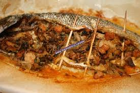 cuisiner de la dorade dorade farcie aux crevettes et au vermicelle chinois dans ma