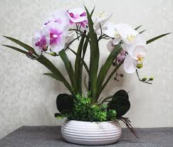 orchid arrangements artificial orchid arrangements centerpieces cookwithalocal home