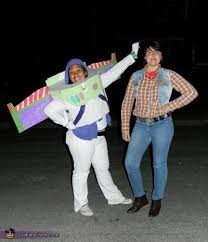 Buzz Lightyear And Woody Meme - toy story buzz lightyear and woody homemade costumes halloween