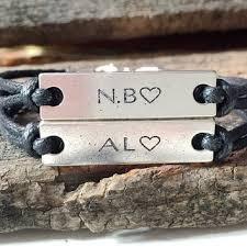 Customized Engraved Bracelets Best Couples Custom Engraved Bracelet Products On Wanelo