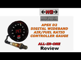 wide band wide band apsx d2 air fuel ratio review