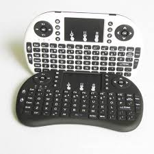 large key keyboards for android mini i8 air mouse 2 4g ultra slim wireless keyboard for ios or