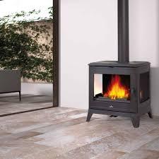 free standing wood burning fireplace binhminh decoration