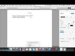 How To Count Words In Textedit In Mac Os X Built In Word Count In Textedit No Applescript