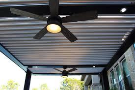 Pergola Ceiling Fan by Austin Pergolas Arcadia Louvered Roof Shade Outdoor Living