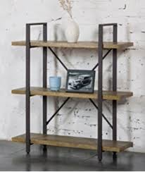 Reclaimed Wood And Metal Bookcase Amazon Com O U0026k Furniture 2 Tier Rustic Wood And Metal Bookshelves