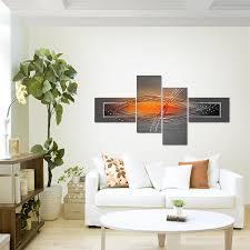 Schlafzimmer Xxl M El Amazon De Bilder 160 X 80 Cm Abstrakt Bild Vlies Leinwand