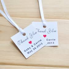 Thank You Tags Wedding Favors Templates by Tag Bookmark Picture More Detailed Picture About Favor Tag