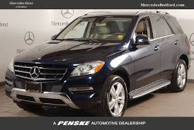 mercedes m suv 2015 used mercedes m class 4matic 4dr ml 250 bluetec at