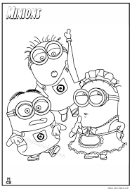 minions coloring pages 03