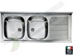 lavello cucina acciaio inox hda12522sx lavello davighi rsi hidra hda12522 sx incasso