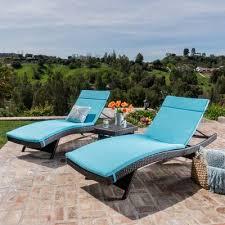 home loft concepts rio vista chaise lounge set with cushion