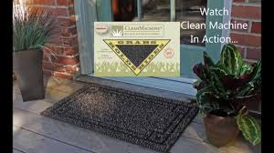 Don Aslett Doormat The Clean Machine Scraper Door Mat And How We Trap The Dirt Youtube