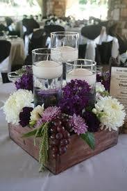 purple centerpieces 60 great unique wedding centerpiece ideas like no other purple