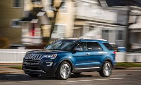 Ford Explorer Body Styles - 2018 ford explorer in depth model review car and driver