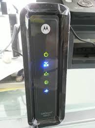 Modem Internet Light Blinking H Cable Problem