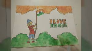 indian flag patriotic drawing idea for kids how to craftlas