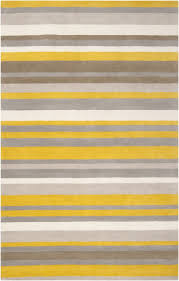 Grey Striped Rug 35 Best Rugs Images On Pinterest Yellow Rug Gray Yellow And