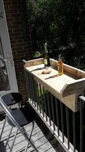 balkonbar klein balkon idee steigerhout huisje pinterest