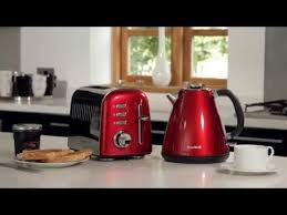 Morphy Richards 2 Slice Toaster Red Breville Aurora 2 Slice Toaster Red Youtube