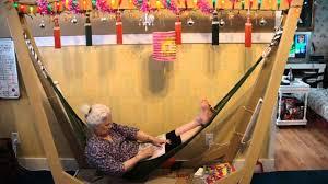 homemade indoor hammock youtube