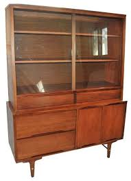 China Cabinet Modern Mid Century China Cabinet Made By Stanley Modern Buffets And