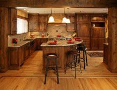 Alder Kitchen Cabinets by Whiskey Black Rustic Alder Lakehouse Ideas Pinterest