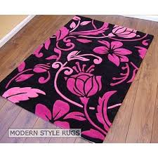 Pink And White Rug Pink And Black Rugs Roselawnlutheran