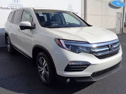 2017 new honda pilot ex l w navigation awd at honda mall of