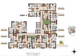 D3 Js Floor Plan Floor Plan Malles Arcadiaa At Velachery Chennai Malles