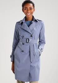 light blue trench coat benetton dresses benetton trenchcoat light blue women clothing