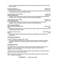 resume exles special education aide duties intervention counselor resume