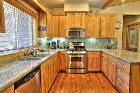 Craftsman Kitchen Cabinets Craftsman Kitchen With Flat Panel Cabinets U0026 U Shaped In Truckee