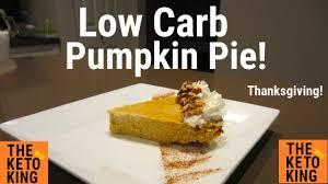 easy low carb pumpkin pie for thanksgiving keto