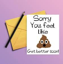 feel better cards get well card get well soon card get well card