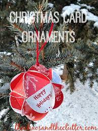 card ornaments