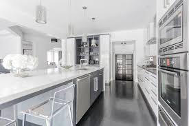 kitchen modern designer and kitchen green grey career black