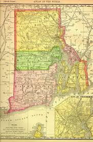 Map Of Newport Ri Rhode Island Map