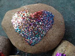 Painted Rocks For Garden by Rock Solid U201d Valentine Craftleah U0027s Thoughts Leah U0027s Thoughts