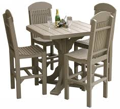 furniture magnificent pub dining table sets bar table set 5