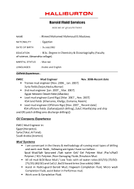 Sample Resume Format For Lecturer In Engineering College by Download Halliburton Field Engineer Sample Resume