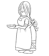 vicky viking characters coloring pages coloring