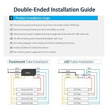 rewire fluorescent light for led led tube light wiring diagram dual wiring diagram