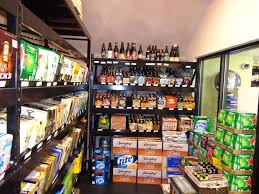 Liquor Store Shelving by Beer Cave Shelving Handy Store Fixtures