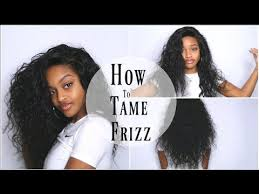 how to tame gray hair the best way to tame frizz for curly hair wowafrican hair youtube