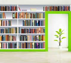 bookshelf wallpaper qygjxz