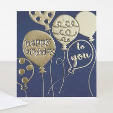 cameo happy birthday card balloons caroline gardner